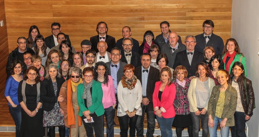 Fundadores del Colegio Oficial de Periodistas de La Rioja