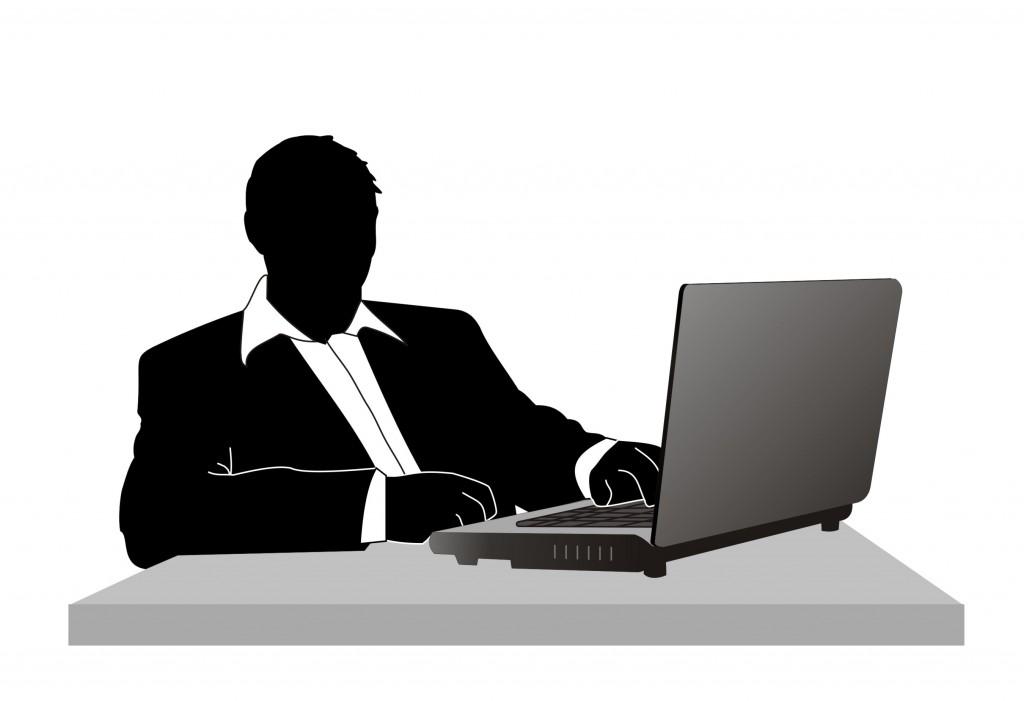 Hombre y ordenador