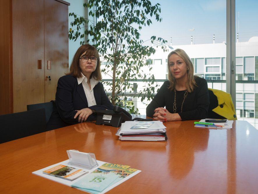 Blanca Martínez se interesa por el periodismo agroalimentario