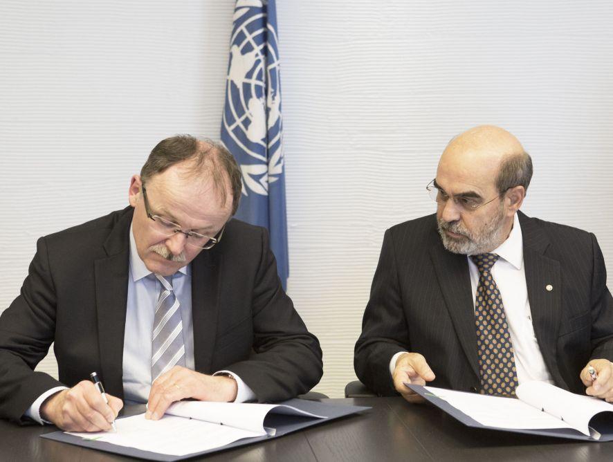 Acuerdo entre la FAO e IFAJ