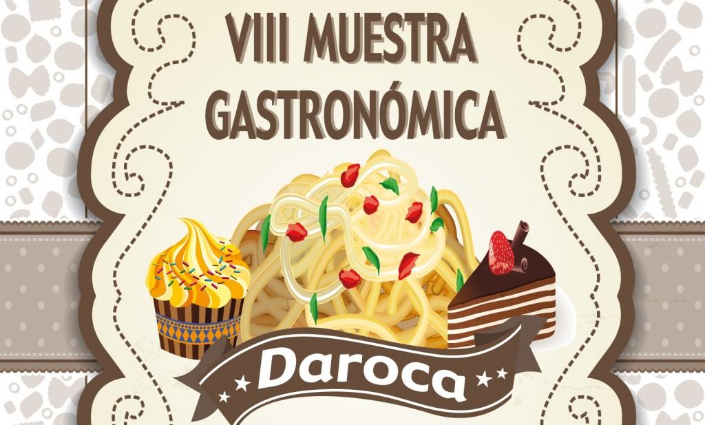 Cartel VIII Muestra Gastronómica Pasta y Dulce de Daroca