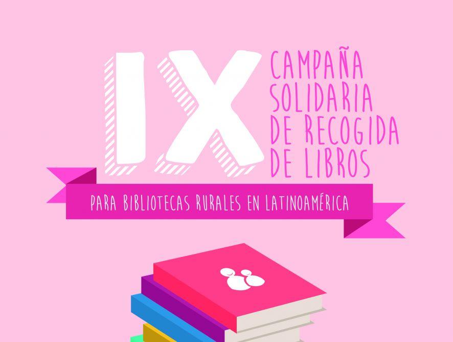 Ayuda Justa organiza su IX Campaña de recogida de libros