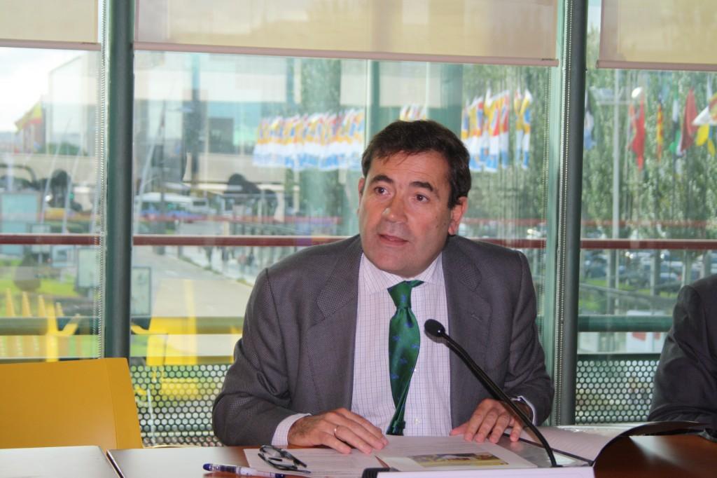 Carlos Cabanas, durante la jornada #FIPA14