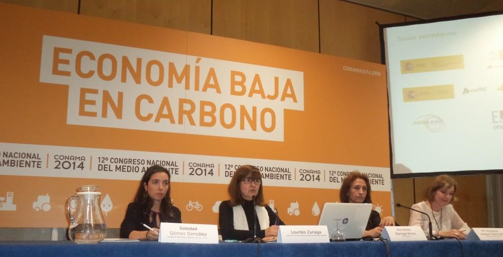 """Mesa Redonda """"La garantía de calidad que da la proximidad""""  en Conama 2014"""