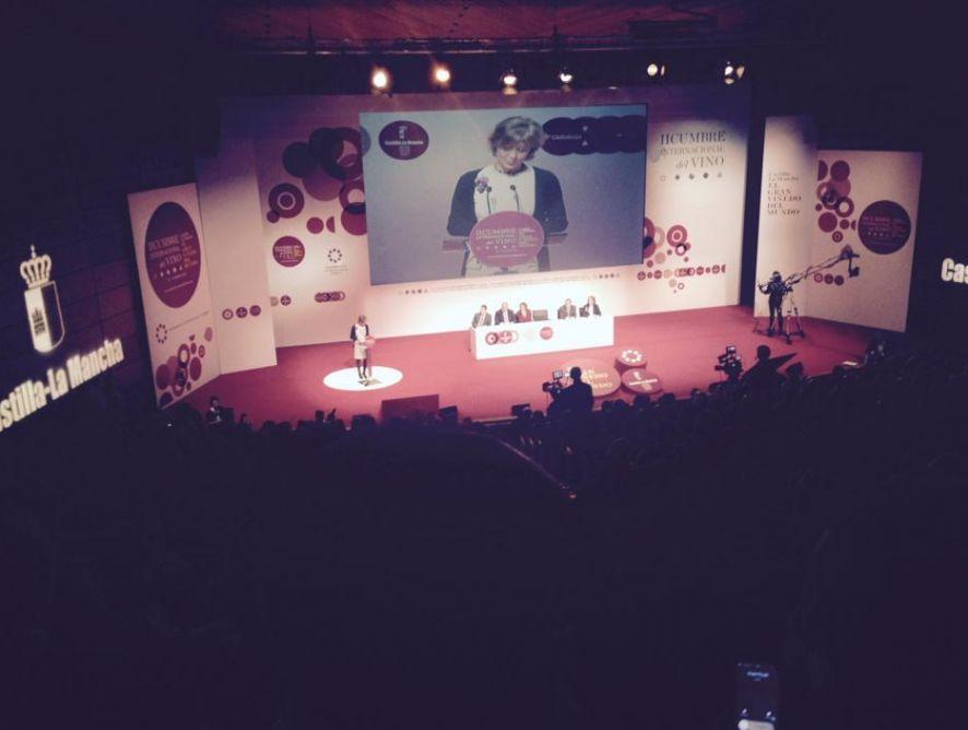 APAE, presente en la inauguración de la II Cumbre Internacional del Vino