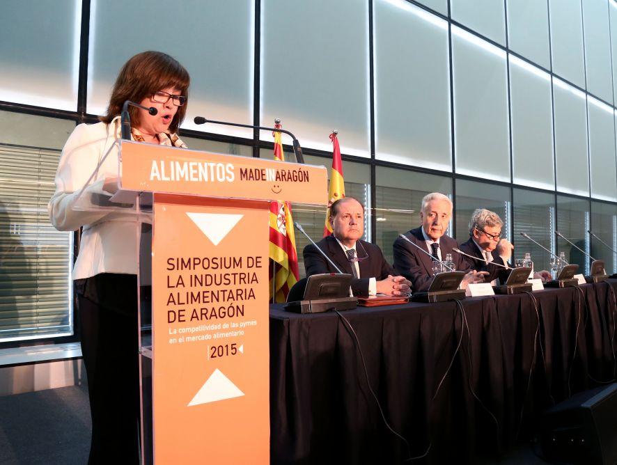 """Participación en la jornada """"La competitividad de las PYMES en el mercado alimentario"""""""