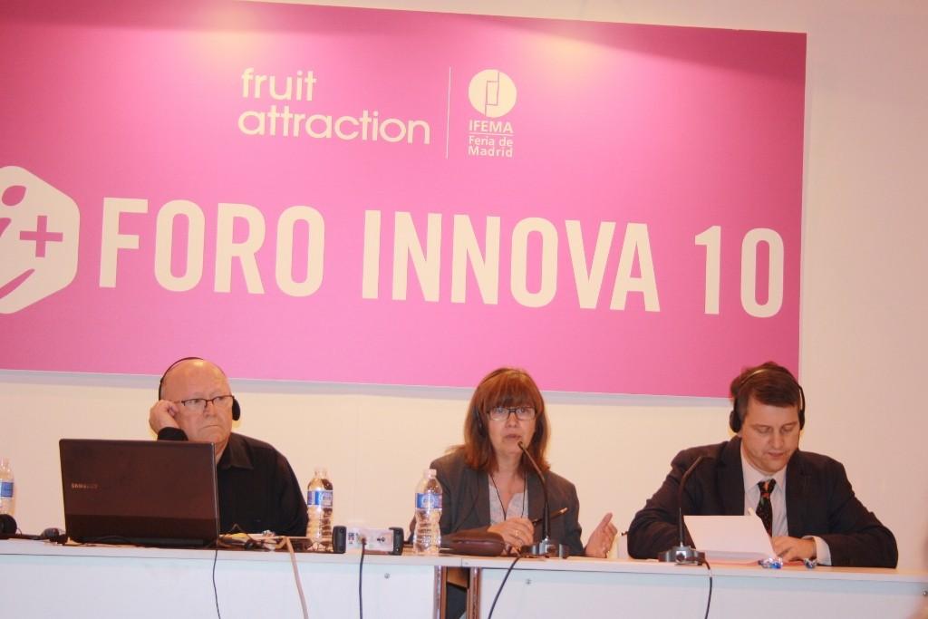 De izquierda a derecha; Jef Verhaeren, Lourdes Zuriaga y Roger Waite