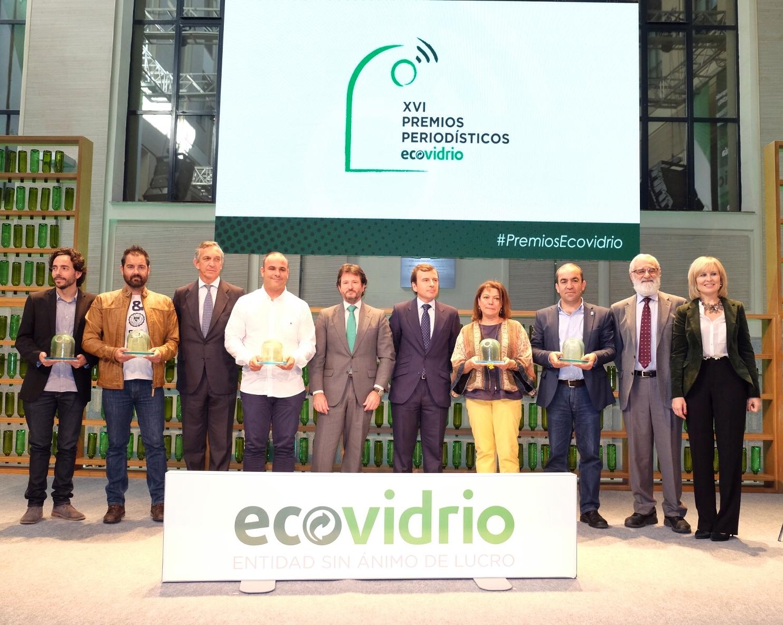 Lluis Amengual, premio periodístico Ecovidrio 2015