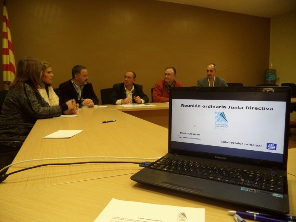 La reunión ha tenido lugar en la Sala 2 de Feria de Zaragoza