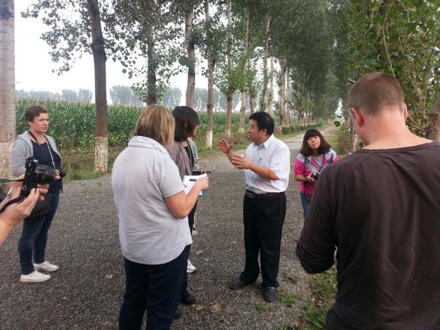 Presentes en un viaje de prensa agroalimentaria a China