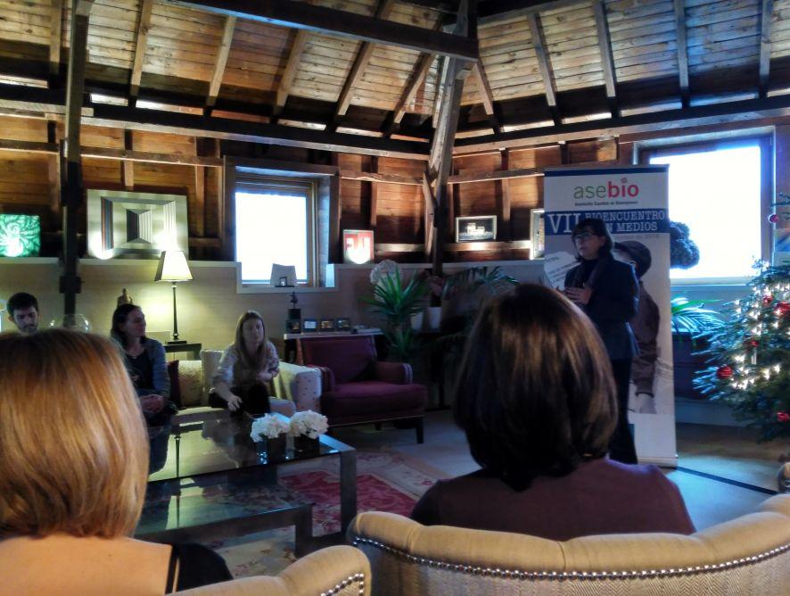 Presentes en el Bioencuentro con medios organizado por ASEBIO