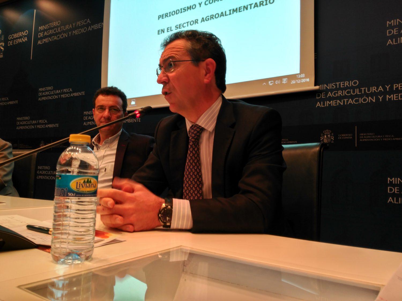 El presidente de Cajamar, Eduardo Baamonde, durante una de sus intervenciones