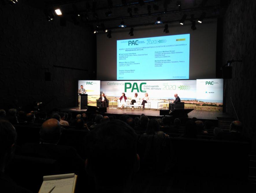 """APAE participa activamente en la conferencia """"Construyendo la PAC del futuro"""""""