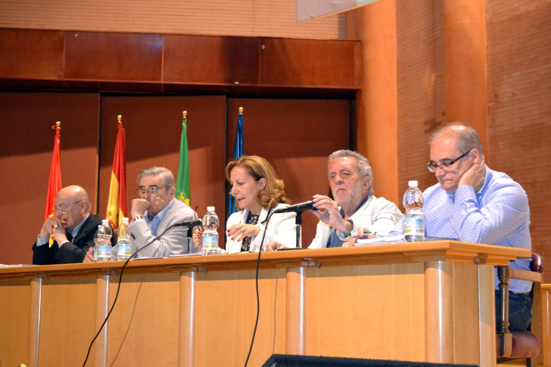 Mesa de la Junta Directiva de FAPE durante la Asamblea de Mérida de 2017