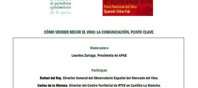 """APAE organiza en FENAVIN el encuentro """"Cómo vender mejor el vino: la comunicación, punto clave"""""""