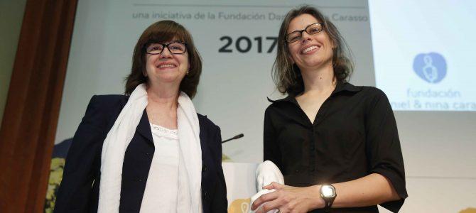 Presentes en la entrega del premio Daniel Carasso