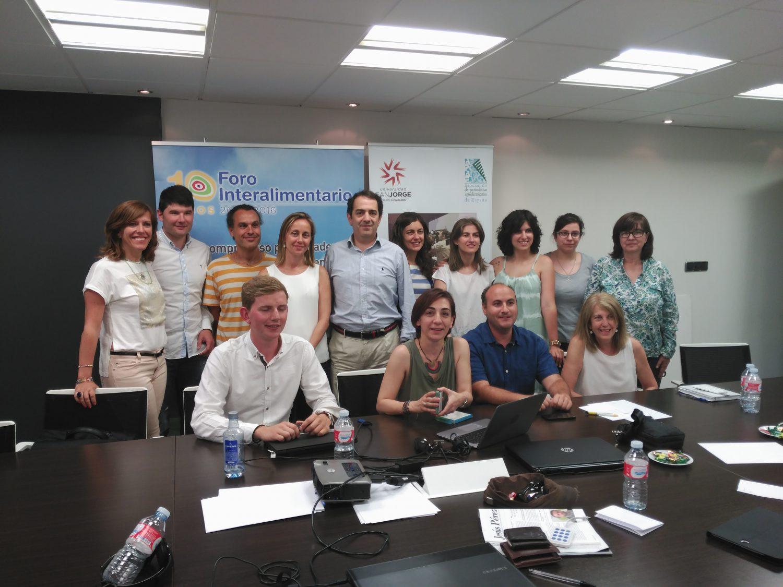 Asistentes a la quinta sesión presencial de la primera edición del Curso de Experto Universitario en Comunicación Agroalimentaria.