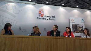 La presentación tuvo lugar en la sala de prensa de la Consejería de Agricultura y Ganadería de Castilla y León
