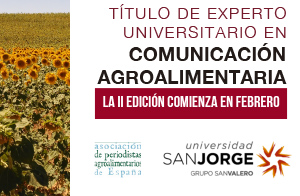 Título de experto universitario en coomunicación agroalimentaria
