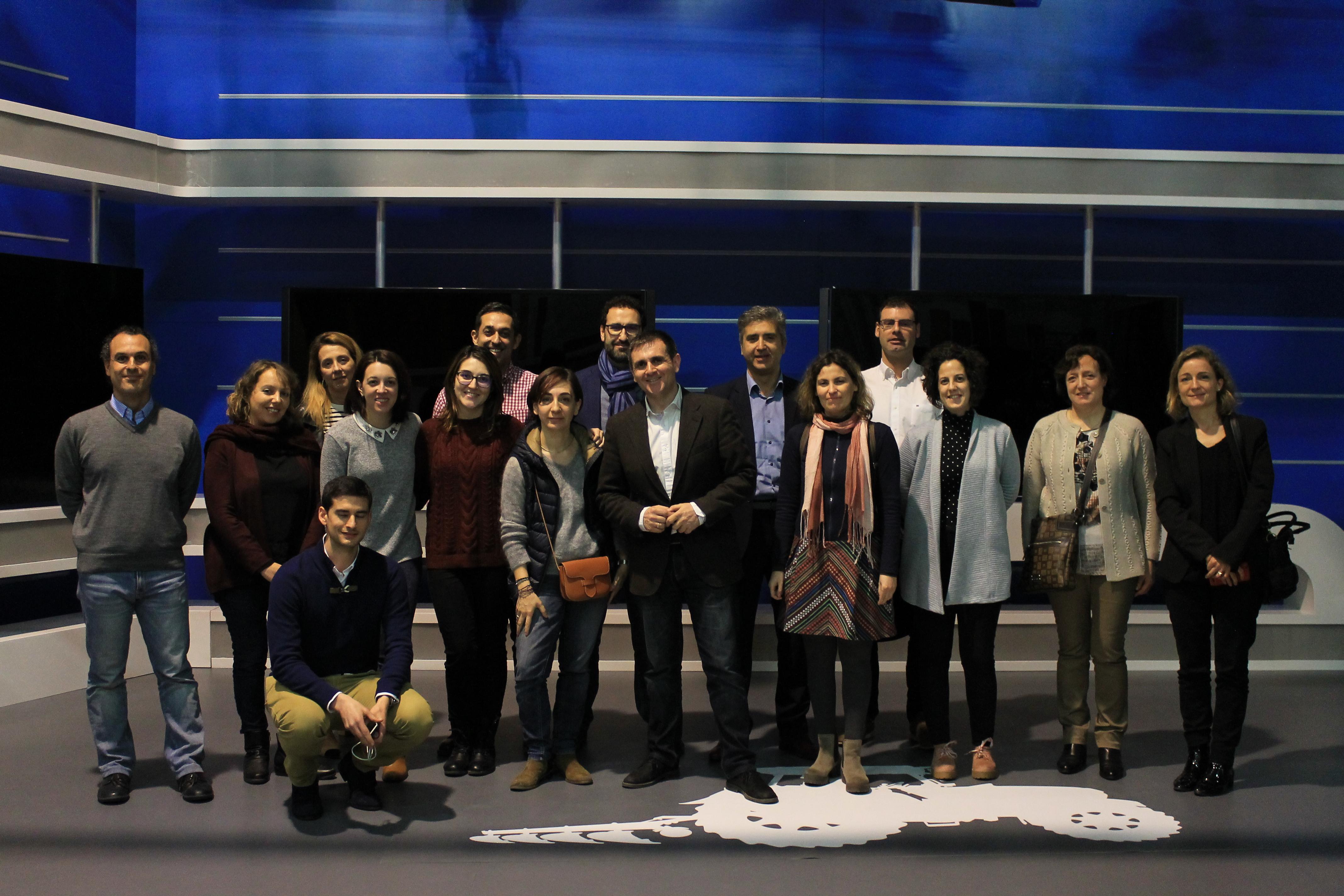 Foto de grupo durante la segunda sesión presencial del curso EUCAgro
