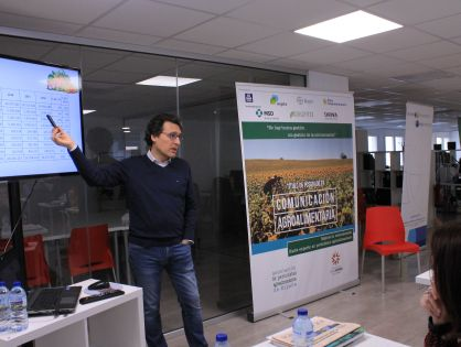 """Fernando Miranda: """"La comunicación es importante para crear marca España y que el ciudadano reconozca la calidad del producto agroalimentario"""""""