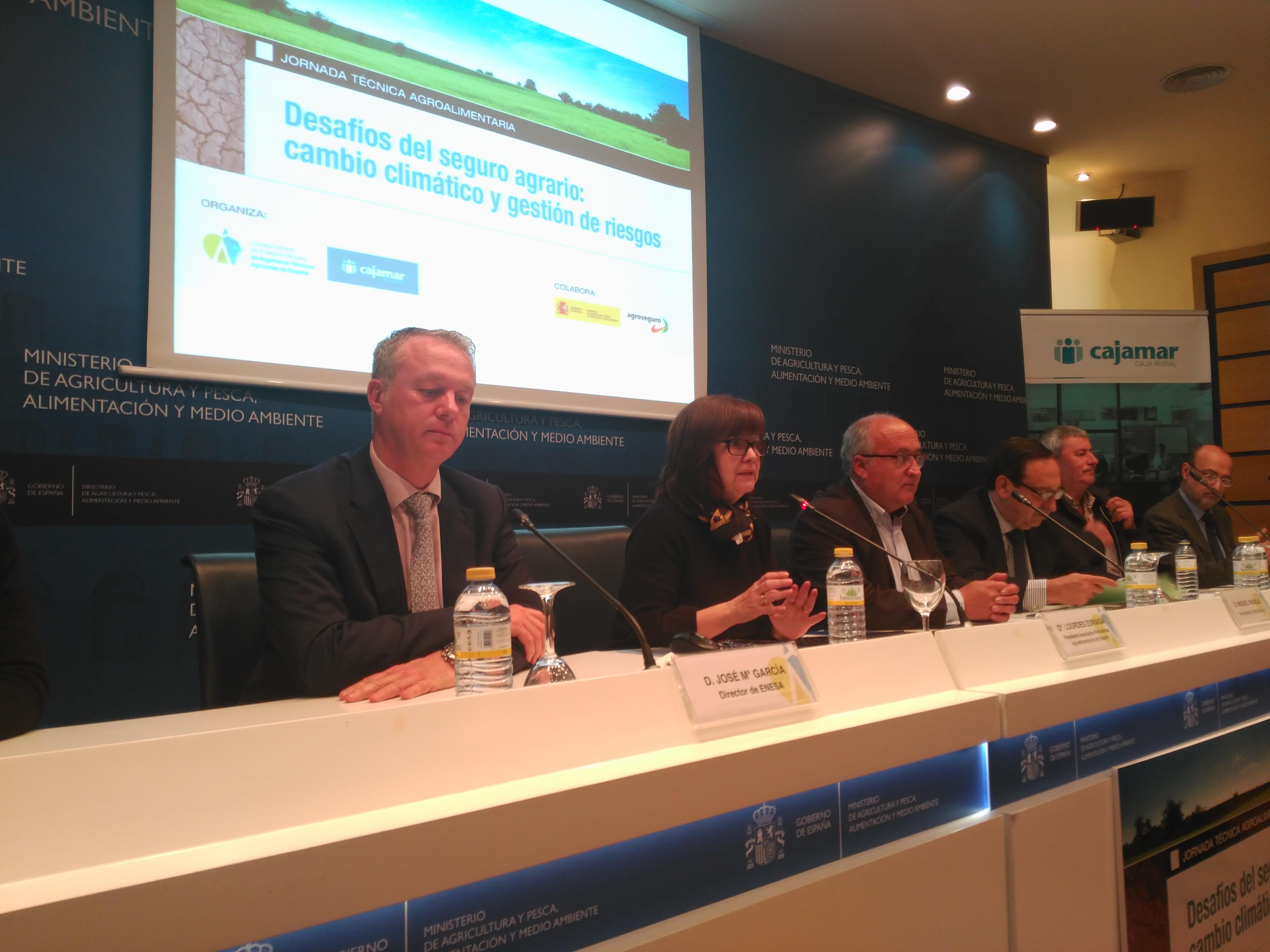 Seguros agrarios y cambio climático, a debate