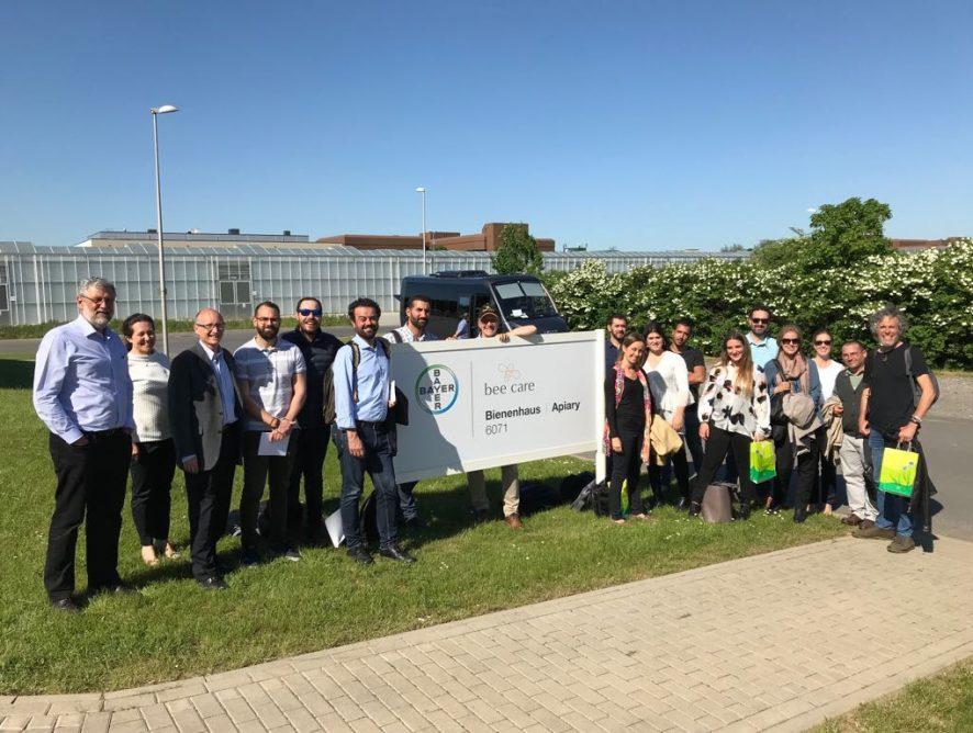Viaje de prensa a Alemania en torno a los insectos polinizadores