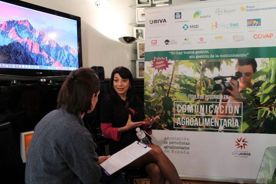 """Isabel Bombal: """"Triunfaremos cuando la incorporación de jóvenes y mujeres al sector agrario dejen de ser noticia"""""""