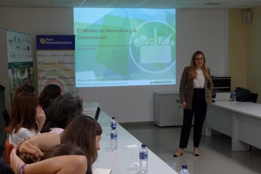 """Elena Sanchís: """"En Mercadona somos muy prudentes: comunicamos las cosas cuando tenemos todo bien atado"""""""