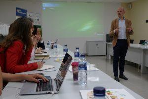 José Miguel Herrero durante la 5ª sesión presencial del curso EUCAgro en su edición de 2019