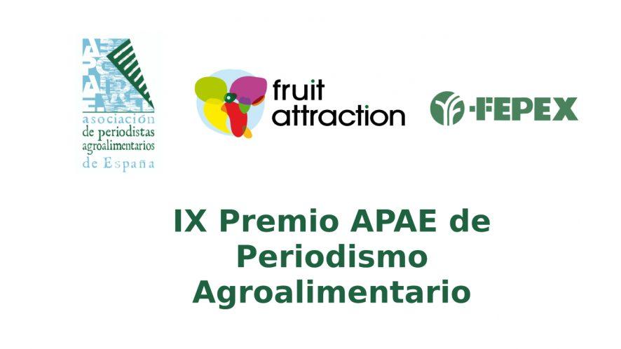 APAE convoca la novena edición de sus premios periodísticos