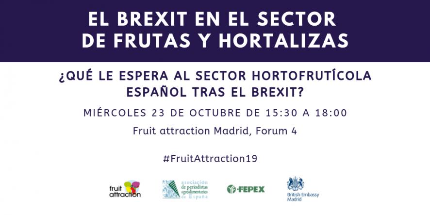 El sector hortofrutícola analiza los posibles escenarios a las puertas del Brexit