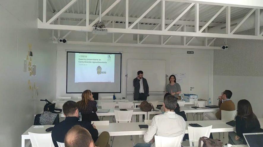 Inicio de la 4ª edición del curso #EUCAgro
