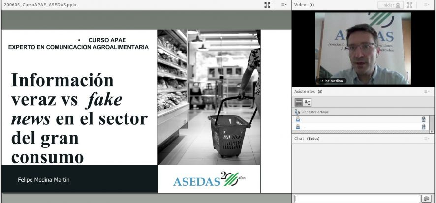 Distribución alimentaria y periodismo, a debate en el curso #EUCAgro