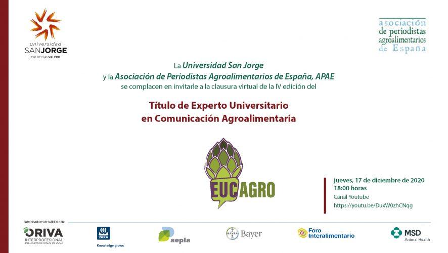 Clausura 4ª edición curso EUCAgro