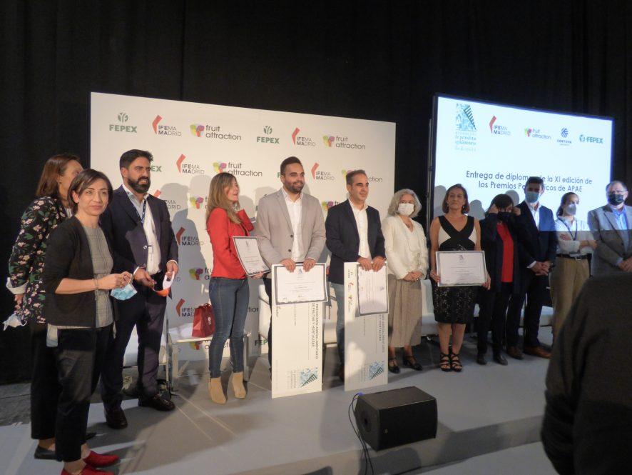 APAE entrega los diplomas de sus XI Premios Periodísticos